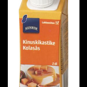Karamellikaste vähese laktoosi sisaldusega 200 ml, RAINBOW